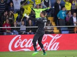 Asenjo habló sobre la situación del Villarreal. EFE/Archivo