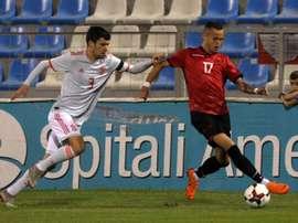 Albania sacó un punto de su visita a Polonia. EFE/Archivo