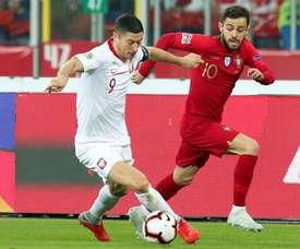 Portugal sufre para conquistar Polonia sin Cristiano. EFE