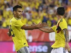 Colombia ganó a Costa Rica. EFE