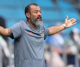 Nuno says he is not yet worried by Wolves' poor run of form. EFE