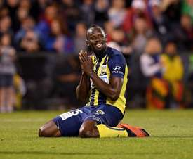 Could Bolt be playing in the Champions League next season? EFE