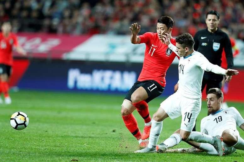 Arsenal y Crystal Palace, tras los pasos de Hwang Hee-chan. EFE