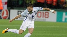 Henderson vio la segunda amarilla del torneo ante Croacia. EFE/Archivo