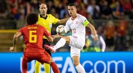 Bélgica y Suiza se medirán en un amistoso. EFE