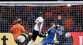 Hubo un particular Alemania-Holanda en el pasado. EFE