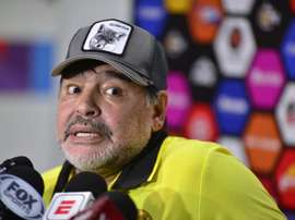 Maradona cree que Messi no debe volver con Argentina. EFE/Archivo