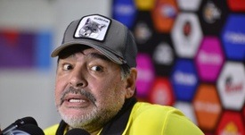 Maradona va parler avec Messi. EFE