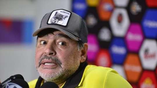 Maradona hablará con Messi para explicarle la situación. EFE/Archivo