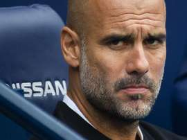 Guardiola does not see Manchester City as Champions League favourites. EFE