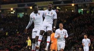 Portugal, con goles de Helder Costa, Eder y Bruma, se impuso. EFE
