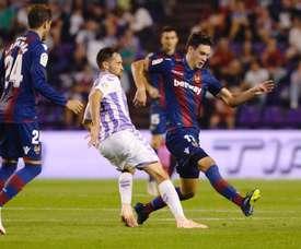El futbolista jugó pese a no estar completamente recuperado. EFE