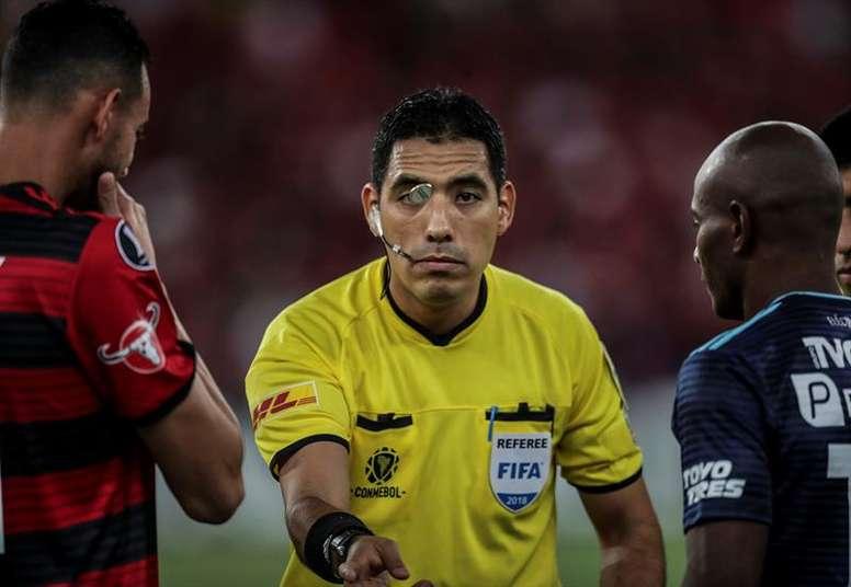 Diego Haro, fuera de la final de la Libertadores. EFE