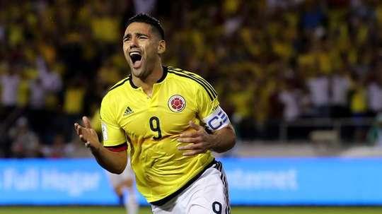 Colombia se enfrenta a Costa Rica. EFE