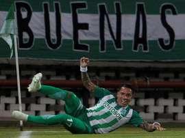 Dayro Moreno se encuentra sin equipo. EFE