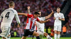 Athletic - Real Madrid: onzes iniciais confirmados. EFE