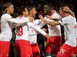 Bélgica espera a Suiza en la Liga de las Naciones. EFE