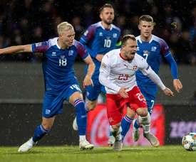 Islandia descendió de categoría. EFE