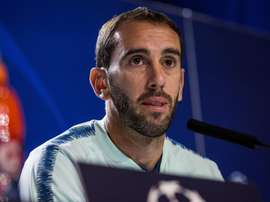 Godín habló del jugador del Betis. EFE/Archivo