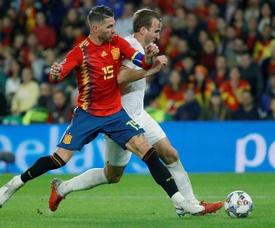 Kane fue de los mejores de Inglaterra. EFE