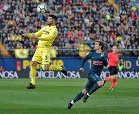 Atlético y Villarreal medirán fuerzas en La Cerámica. EFE
