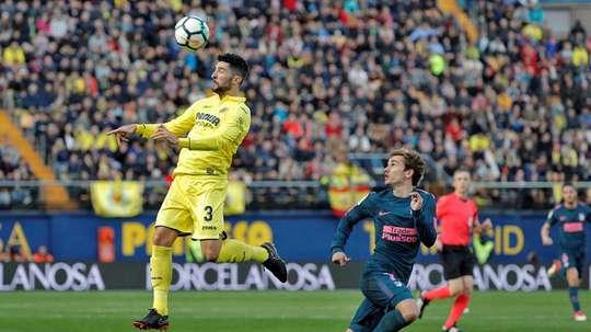 Atlético y Villarreal nunca han tenido buena relación. EFE/Archivo