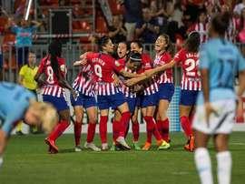 El Atlético Femenino volvió a ganar. EFE