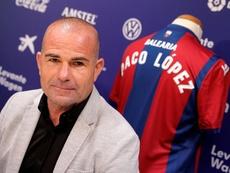Paco López intentará no tener fisuras atrás. EFE