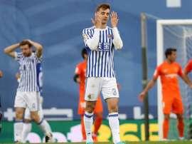 Diego Llorente tiene contrato con la Real Sociedad hasta 2022. EFE/Archivo