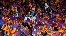 La socia tuvo que entrar al estadio con la camiseta de otro seguidor. EFE