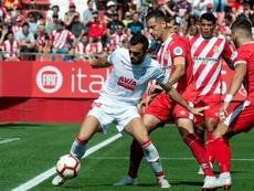 Granell brilló con el Girona la pasada temporada. EFE/Archivo