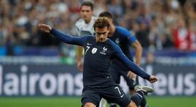 Griezmann scored twice as France beat Germany. EFE
