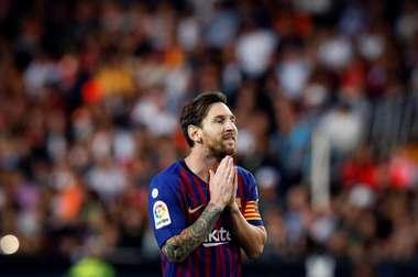 Messi, sorprendente 'MVP' de septiembre. EFE
