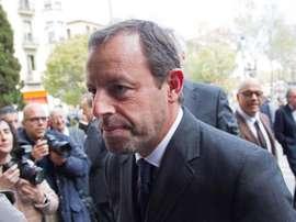Rosell pede quase 30 milhões de euros ao governo Espanhol. EFE