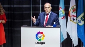 La Liga chief Tebas has insisted that the project will be implemented in the future. EFE