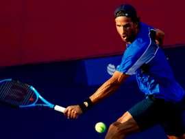 El tenista español Feliciano López durante un torneo. EFE/Archivo