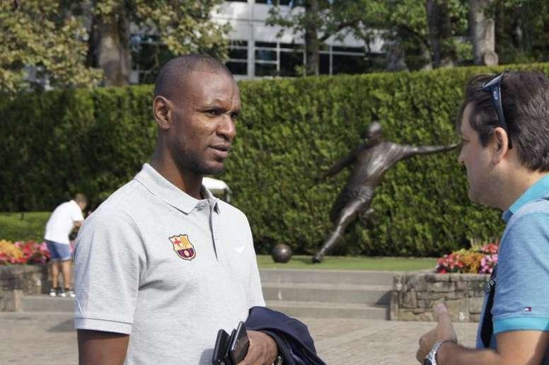 Abidal spoke about Valverde's future. EFE