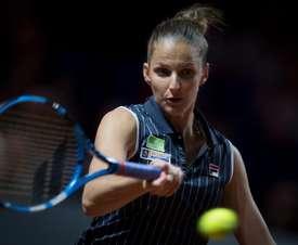 La checa Karolina Pliskova no pasó de segunda ronda en Moscú EFE/EPA/Archivo