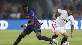 El Barça, con más posibilidades según las casas de apuestas. EFE