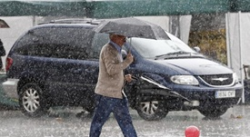 La lluvia está causando estragos en el Levante español. EFE/Archivo