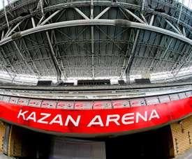 Le Rubin Kazan ne pourra pas participer à l'Europe. EFE