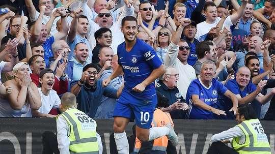 Hazard has been in great form this season. EFE/Archivo