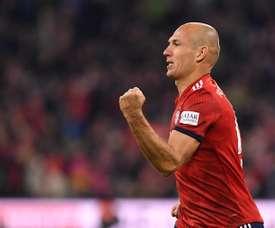 Robben, pretendido pelos seus ex. AFP