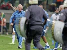 El Palmeiras llega enrachado. EFE
