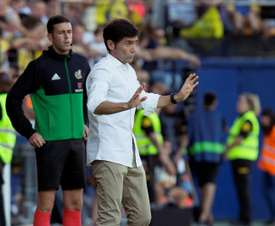 El Valencia espera estrenarse en Mestalla. EFE