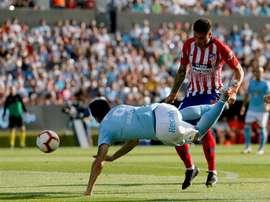 El uruguayo está lesionado. EFE/Archivo