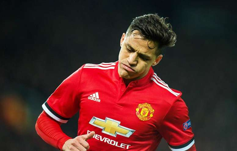 Alexis Sanchez has failed to make an impact with United so far this season. EFE/Archivo