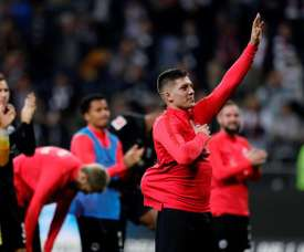 Jovic is also interested in PSG. EFE
