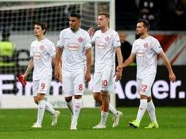 El Fortuna Düsseldorf ha encajado 17 goles en cinco partidos. EFE