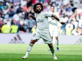 Marcelo foi eleito o melhor em campo. EFE